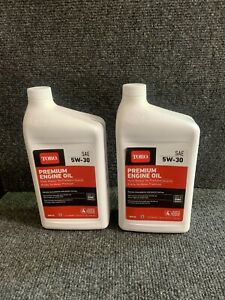 2 Pack Toro  5W-30  4 Cycle Engine  Winter Weather  Motor Oil  32 oz.
