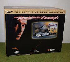 James Bond 007 CORGI CC99105 BMW Z8 & Diorama IL MONDO NON BASTA