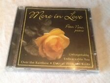 RARE CD More in Love Peter Nero Piano Over the Rainbow Unforgettable long ago
