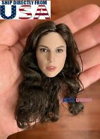 1/6 Gal Gadot Wonder Woman Head Sculpt For Hot Toys PHICEN TBLeague Figure USA