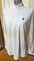 NWT Women's FJ Golf Active 1/4 Zip Long Sleeve Jacket Large Off White $95 MSRP