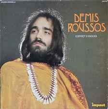 """Vinyle 33T Demis Roussos  """"Demis Roussos - coffret 3 disques"""""""