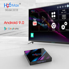 TV Set Top Box For Android 9.0 OS 4K HDR Ultra HD Dual WiFi Bluetooth 4.0 H96 xs