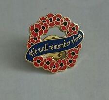 Poppy reef pin badge
