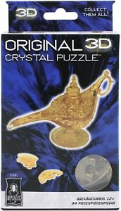 University Games 3-D Licensed Crystal Puzzle -Magic Lamp