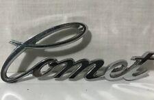 1960's Mercury Comet Script Front Hood Emblem