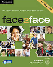NEW face2face Advanced Student's Book with DVD-ROM by Gillie Cunningham
