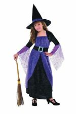 Childrens Girls Pretty Potion Witch Halloween Costume Fancy Dress Outfit 3-5 Yrs