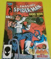 Amazing Spider-Man 1963 series #285 Marvel Comics Copper Age Punisher Gang War