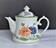 Villeroy & Boch Amapola Teapot & Lid~Excellent Condition~Never Used~# 174B