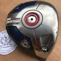 CALLAWAY BIG BERTHA ALPHA 10.5 DEGREE Driver Head - TC TOUR ISSUE SERIAL