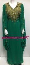 NEW MODELS DUBAI MOROCCAN ROYAL DRESS PARTY WEAR GOWN FARASHA ABAYA FOR WOMEN