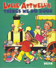 MABEL LUCIE ATTWELL - LUCIE ATTWELL'S THINGS WE DO BOOK - DEAN 1977 - LOVELY CON