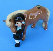 Hagen-Renaker 03170 Little Girl With Pony Ceramic Figure