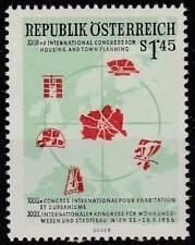 Oostenrijk postfris 1956 MNH 1027 - Stedenbouw Konferentie Wenen