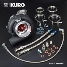 "Arashi Ball Bearing Turbocharger 4"" GTX3071R GT3071R Anti-surge A/R .63 V-band"
