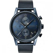 Hugo Boss Men's Navigator QC Edition Blue Mesh Watch HB1513538