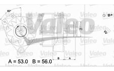 VALEO Alternador para VW GOLF TRANSPORTER PASSAT SEAT TOLEDO AUDI 100 436191