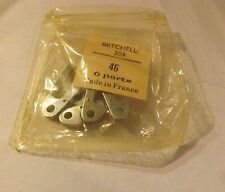 6 New Old Stock Mitchell 304 305 314 FISHING REEL ANTI REVERSE DOGS NOS 81138