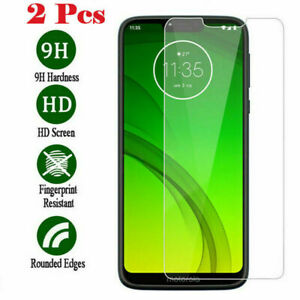 2X Full Glue Protective Glass for Moto G 5G G9 Power One 5G E Screen Protector