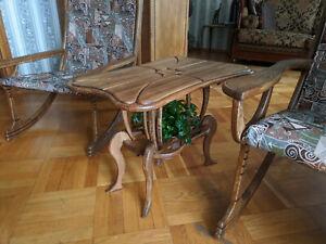 "A&O Lovely small table  ""Corps de ballet"" in Art Nouveau style"