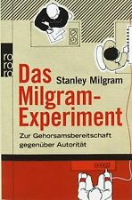 Das Milgram-Experiment: Zur Gehorsamsbereitschaft gegenü... | Buch | Zustand gut