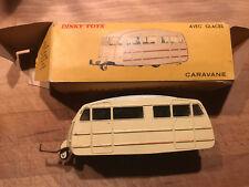 DINKY TOYS vintage caravane 811 toit lisse  bon etat bon etat avec boite