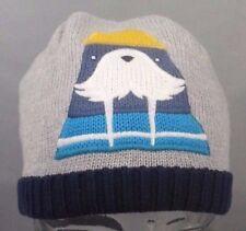 NWT NEW Gymboree Hat Grey Walrus Knit Cap Beanie Size 4T - 5T