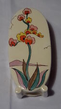 Clarice Cliff Genuine Art Deco Sugar Sifter Rare Agave Pattern