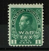 Canada SC# MR1 Mint Hinged / Hinge & Small Page Rem - S2737