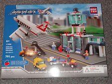 Airport BricTek Building Block Construction Toy Brick Air Port Plane