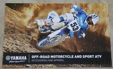 2015 Yamaha Off-Road Accessories Bike Week Promo Dealer Brochure 11 pages