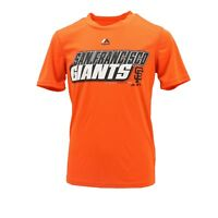 San Francisco Giants MLB Majestic Cool Base Youth Size Athletic T-Shirt New Tags
