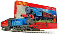 Hornby R1237 Night Mail travelling Post Office Train Set - Working Mail Drop