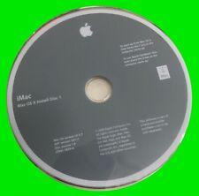 iMac Mac OS X install Disc 1 & 2 10.4.7 2Z691-5859-A + 2Z691-5862-A AHT 3A111