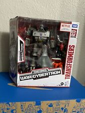 "Transformers War for Cybertron Netflix 7"" Voyager Decepticon Megatron 3-Pack NEW"