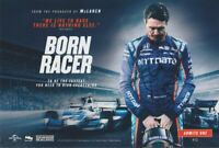 "2018 Scott Dixon signed ""Born Racer"" Movie Premiere Indy Car Numbered postcard"