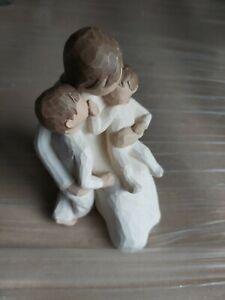 WILLOW TREE : QUIETLY FIGURE FIGURINE SUSAN LORDI. PARENT / KIDS