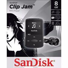 BRAND NEW SanDisk Sansa Clip Jam 8GB MP3 Player, Black (expandable memory)