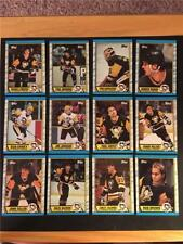 1989/90 Topps Pittsburgh Penguins Team Set 12 Cards