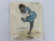New listing Zira Cigarettes Ocean Grove Girl Tobacco Silk - Signed Hamilton King