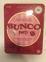 Brand New Bunco Party Pack - Games (Fundex) Collector's Tin Set