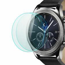 2x Display Schutz Glas für Samsung Gear S3 - Schutz Schutz Folie Glasfolie