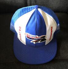 Vintage Orlando Renegades Blue Embroidered Logo Truckers Cap Mesh Hat USFL