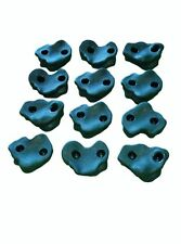 Rock Holds Set of 12 Large Dark Green Rocks for Swing Set Parts & Accessories