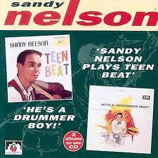 Oop Plays Teen Beat/He's a Drummer Boy! - Sandy Nelson (CD-1996