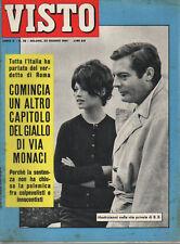 VISTO 25/1961 cover BRIGITTE BARDOT, ANNA MOFFO