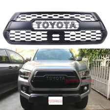 Front Bumper Hood Grille Black For Toyota Tacoma TRD PRO 2016 2017 2018 US