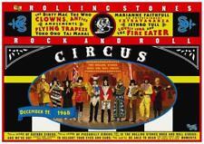 The Rolling Stones POSTER Rock n Roll Circus *AMAZING* Lennon Yoko Jethro Tull