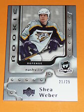 06-07 The Cup Shea Weber Gold Rainbow Rookie 21/25 Parallel #139 RC L@@K!!